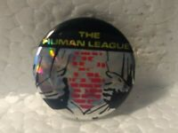 Vintage The Human League Collectible Button Pin pin3224