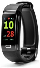 Nuband Pro HR GPS Tracker  - Smart Fitness Watch Band- Black