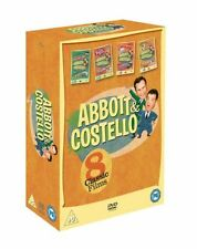 Abbott and Costello Comedy DVDs & Blu-ray Discs