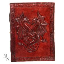 DOUBLE DRAGON LEATHER WICCAN AND WITCHCRAFT BOUND NEW FROM NEMESIS NOW