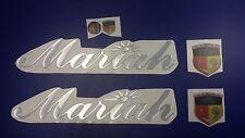 "mariah boat Emblem 22.57"" Epoxy Stickers Resistant to mechanical shocks Vinyl"