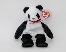 """Ty Retired Beanie Baby """"Fortune"""" panda bear"""