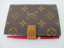 Vintage Louis Vuitton Address Book w Tiffany Red Mechanical Pencil