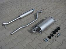 Auspuff Opel Agila B 1.0i 12V / Suzuki Splash 1.0 Auspuffanlage *1379