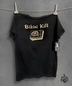 Bikini Kill T Shirt, 100% Combed Cotton, Fair Wear Approved - Unisex and Womens