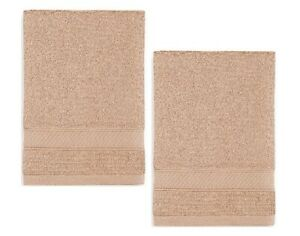 Wamsutta Hygro Sand Hand Towels LOT OF TWO (2)!