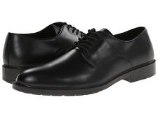 Hush Puppies Mens Ivan Banker Waterproof Black leather Lace up Shoes 13 M