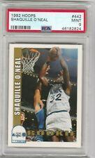 Shaquille O'neal 1992-1993 NBA Hoops Rookie RC PSA 9 MINT *MAGIC* LAKERS *HOF*