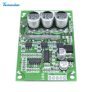 500W Brushless Motor PWM Control Controller Balanced BLDC Driver Board DC 12V-36