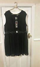 Evans Polyester Plus Size Sleeveless Dresses for Women