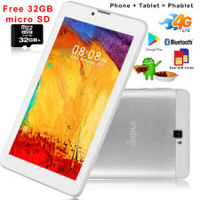 """7"""" Android 9.0 Tablet 4G SmartPhone Extra 32GB Free Google Play Store US Seller"""