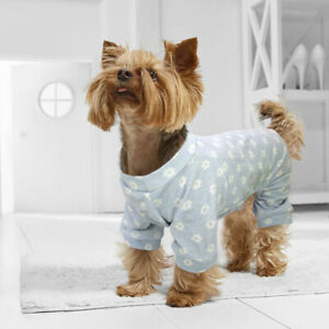Pet Puppy Summer Shirt Small Dog Clothes Cotton Vest Pink Blue Chihuahua Yorkie