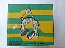 MAFAC COMPETITION SILVER ANODIZED CENTER PULL BRAKE SET - 70's - NOS - NIB