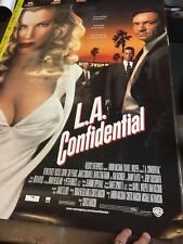 """L.A. Confidential 1997 Large movie poster 27"""" x 39"""" Russell Crowe/Kim Basinger"""