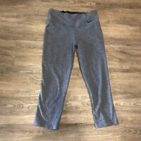 fba25cf56811e1 ... 10 Less Plastic Bottl… $29.99. Free shipping. Nike Legend Dri fit Slim  Capris Small S Crops Pants Legging Gray