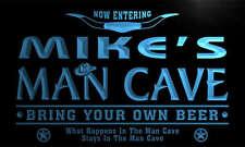 ADV PRO pb105-b Mike's Man Cave Cowboys Bar Neon Light Sign