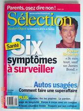 SÉLECTION DU READER'S DIGEST DE JANVIER 2003, EN COUVERTURE PIERCE BROSNAN