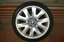 "BMW 6 7 SERIES E63 E64 E65 E66 GENUINE V SPOKE FRONT ALLOY WHEEL 19"" 6761555"