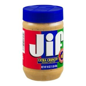 JIF Extra Crunch Peanut Butter 16 oz