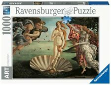 Puzzle 1000 Pz Pezzi Art Collection Botticelli Nascita di Venere Ravensburger