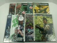 Lot Of 10 Ghostbusters Comic Book (8) IDW & (2) 88 MPH
