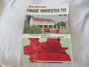 New Holland 717 forage harvester brochure