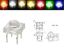 5mm Red Yellow Blue White Orange Warm Piranha Superflux LED Dome Wide Angle Leds