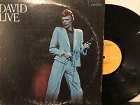 David Bowie – David Live LP 1974 RCA Victor – CPL2-0771 VG/VG