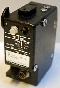 """MOTEUR """"EM"""" pour Caméra PAILLARD BOLEX H16 -16 mm-TYPE MST 25-50 -12 V N° P1530"""