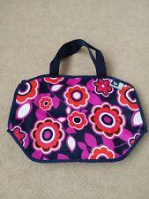 New listing New Byo Floral Thick Heavy Duty Insulated Freezable Zip Lunch Bag Tote - Nwot