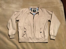 Mens Park Lane American English Harrington Style Designer Jacket Size Medium