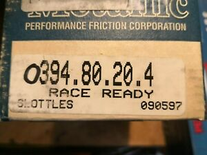 Performance Friction Front Brake Pads 0394.80.20.4 BMW M3 E36 E46 NOS 394 RACE