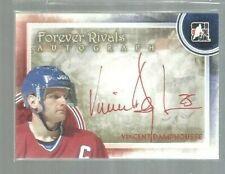 2012-13 ITG Forever Rivals Autographs #AVD2 Vincent Damphousse SP (ref 6447)