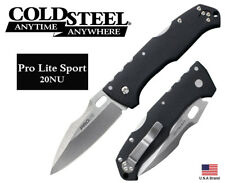 """Cold Steel 4.5"""" Folding Knife Pro Lite Sport 4116 Stainless TRI-AD Lock 20NU"""