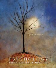 Psychology Ninth Edition in Modules, David G. Myers, Good Book