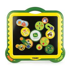 TOMY Gearation Magnetic Building Toy John Deere 11 Magnets Gears Kids Gift NEW