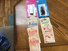 Kadee HO Scale Universal Magne-Matic Couplers And Other Parts.