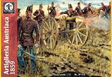 Waterloo 1815 1/72nd Scale Plastic 1859 Austrian Artillery Set 018 NEW in Box!