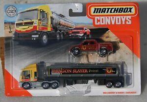 Matchbox Convoys MBX Cabover & tanker + Badlander Dragon FNQHotwheels FM150