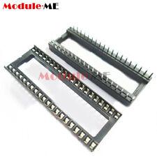 10/20/50/100PCS 40pin DIP IC Adaptor Solder Type Socket Pitch Dual Wipe Contact