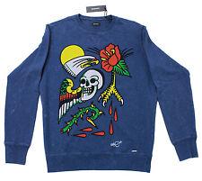 Brand New Diesel S-Joe-AS Blue Sweater 81E Size Large