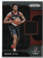 2019-20 Panini prizm sensational swatches jersey relic Nassir Little Rookie RC