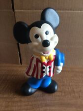 Vintage Ceramic Walt Disney Mickey Mouse Figurine