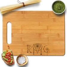 Froolu Native Monogram Custom cutting board Initials Engraving Christmas Gift