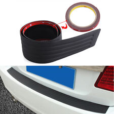 Car SUV Rear Bumper Sill/Protector Plate Rubber Cover Guard Pad Moulding Trim Y