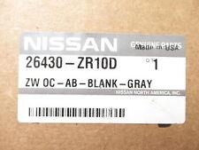 Genuine OEM Nissan 26430-ZR10D Overhead Console w/ Map Light Gray 2007-09 Titan