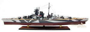 """Quality Handcrafted Tirpitz 39"""" Wooden Warship Ready Display Model"""