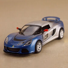 2012 Lotus Exige S Model Car Blue Silver Ombre 1:32 12.5cm DieCast PullBack OLP
