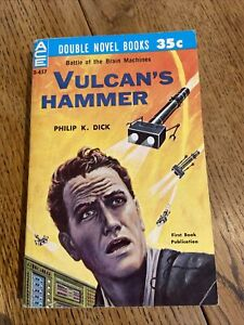 The Vulcan's Hammer by Philip K. Dick 1960 US ACE 1st/1st PBO - Vintage - VGC