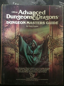 AD&D 1st Edition Dungeon Masters Guide 2011